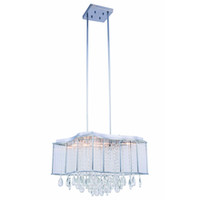 Elegant 2107DF20C/RC - 2107 Aspen Colloection Chandelier L:19.75 in W:19.75in H:14.5in Lt:10 Chrome Finish (Royal Cut Cryst