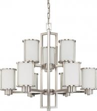 Nuvo 60-2855 - Odeon 2 Tier 9 Light Chandelier