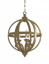 Currey 9133 - Axel Orb Chandelier, Small